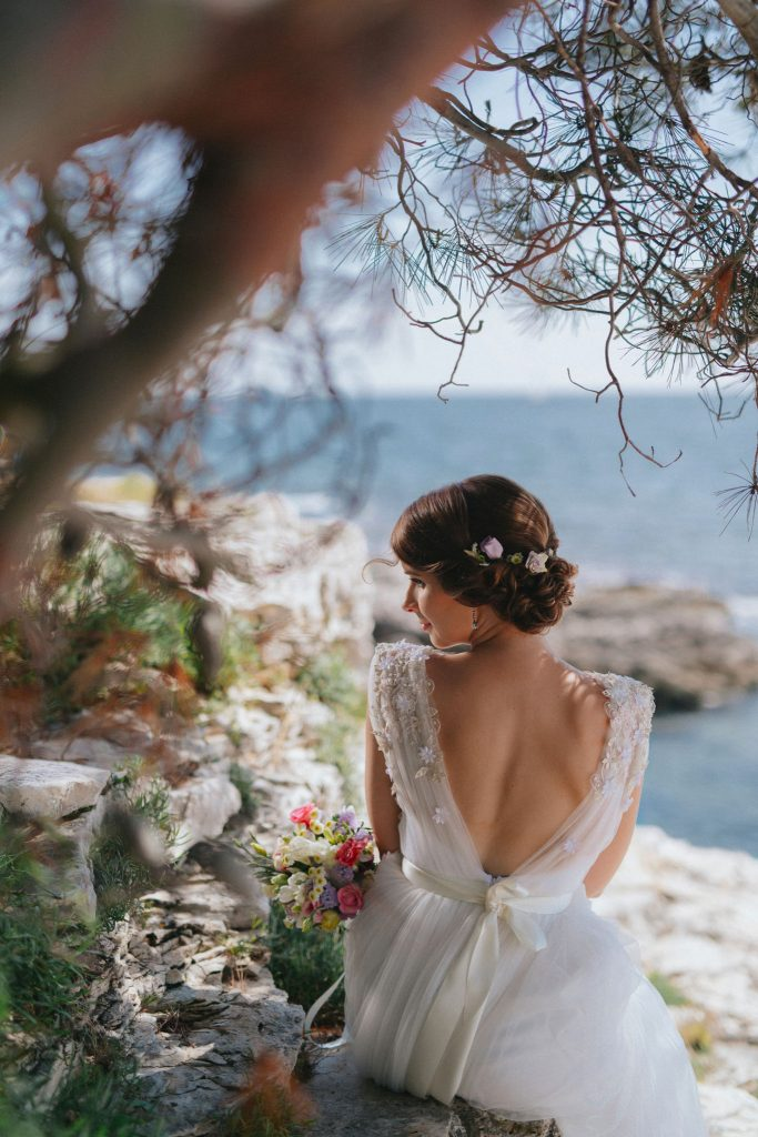 Wedding in Croatia, Red Island near Rovinj