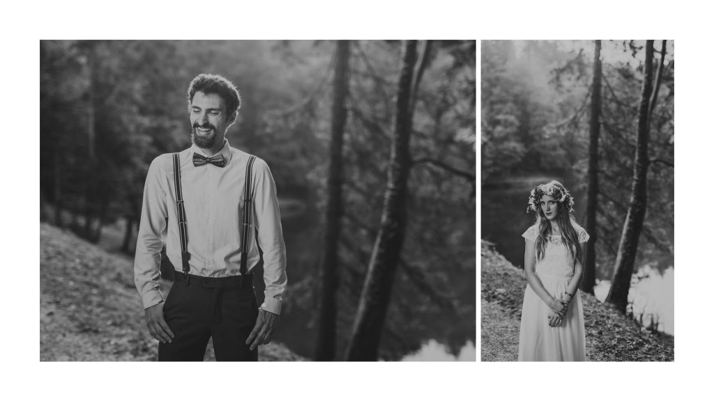 Trakoscan Lake Wedding photo session