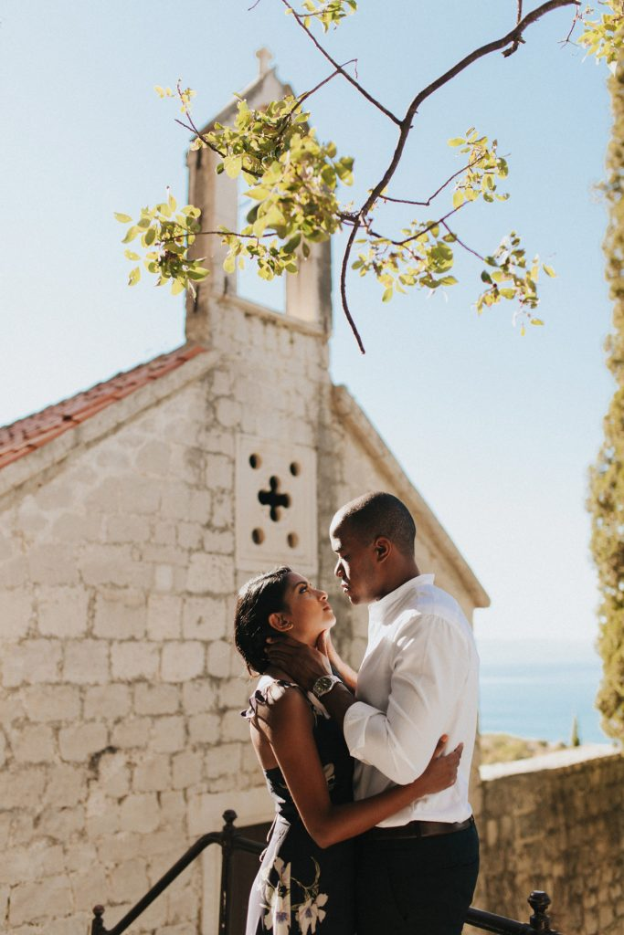 Elopement photography session in Split